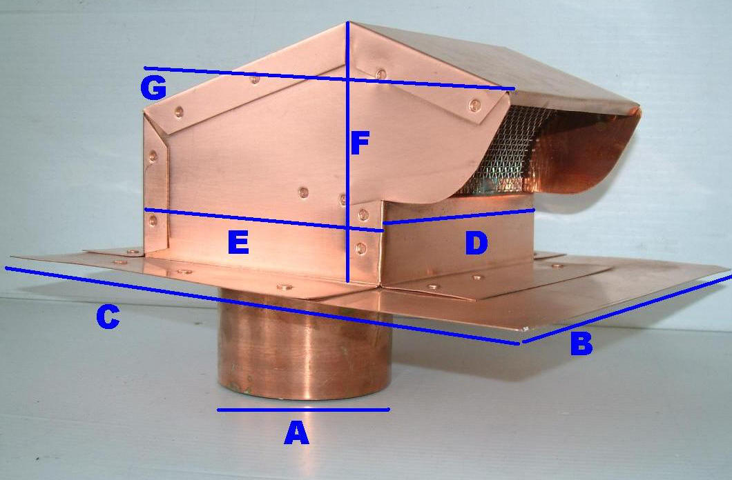 Volko Is Your Copper Vent Source Copper Roof Jacks Custom Ventilation Solutions
