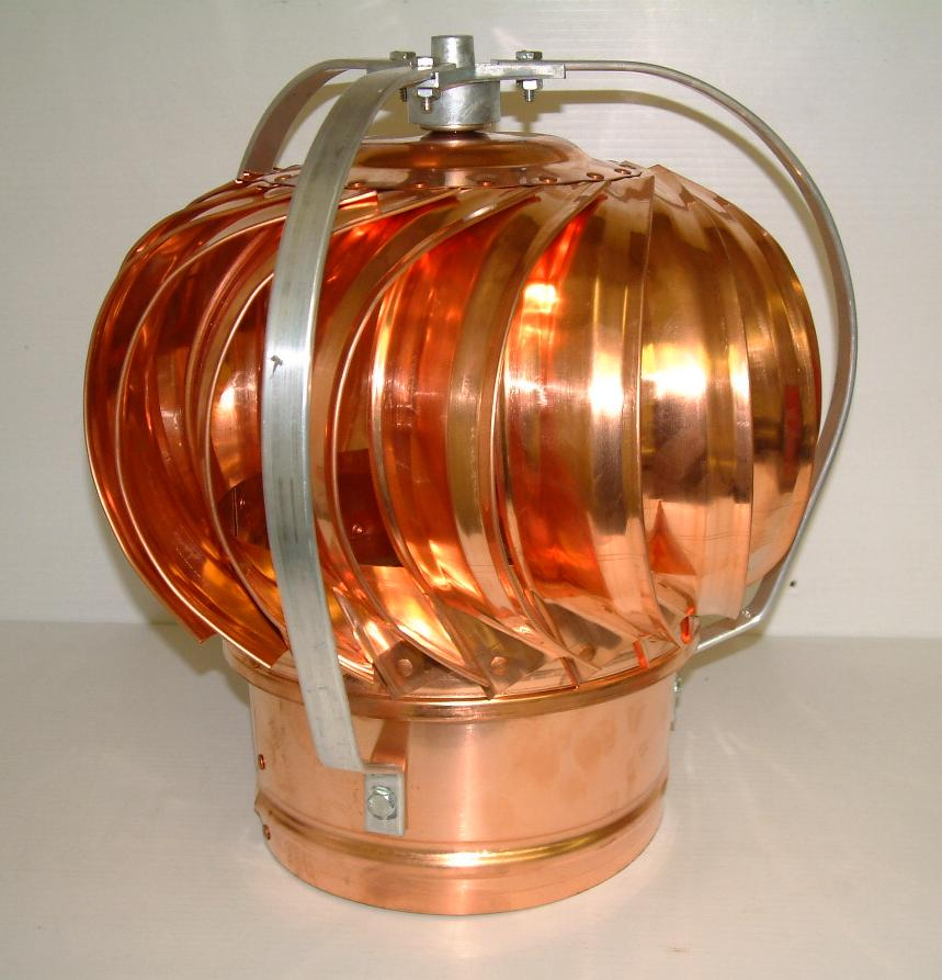 Light Industrial Gas Turbine: Volko Is Your Copper Source...copper Roof Turbines