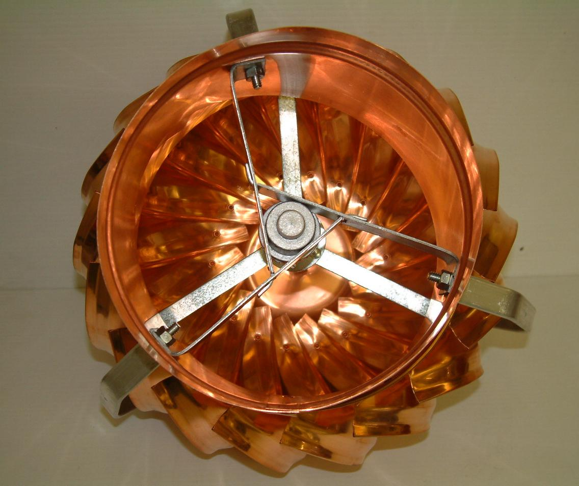 Volko Is Your Copper Source Copper Roof Turbines