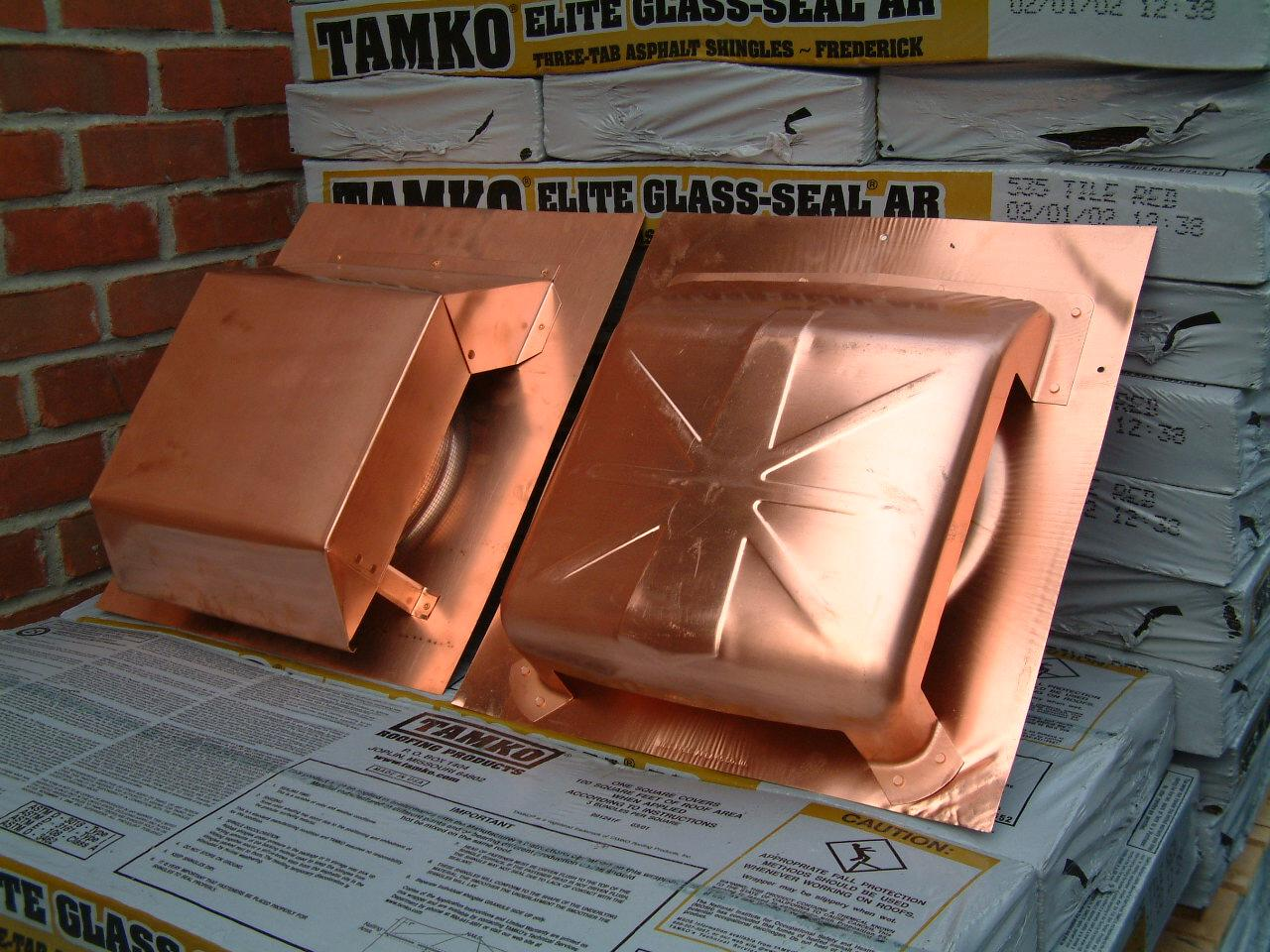 Volko Copper Roof Vents is your source for copper roof louvers & ventilators.