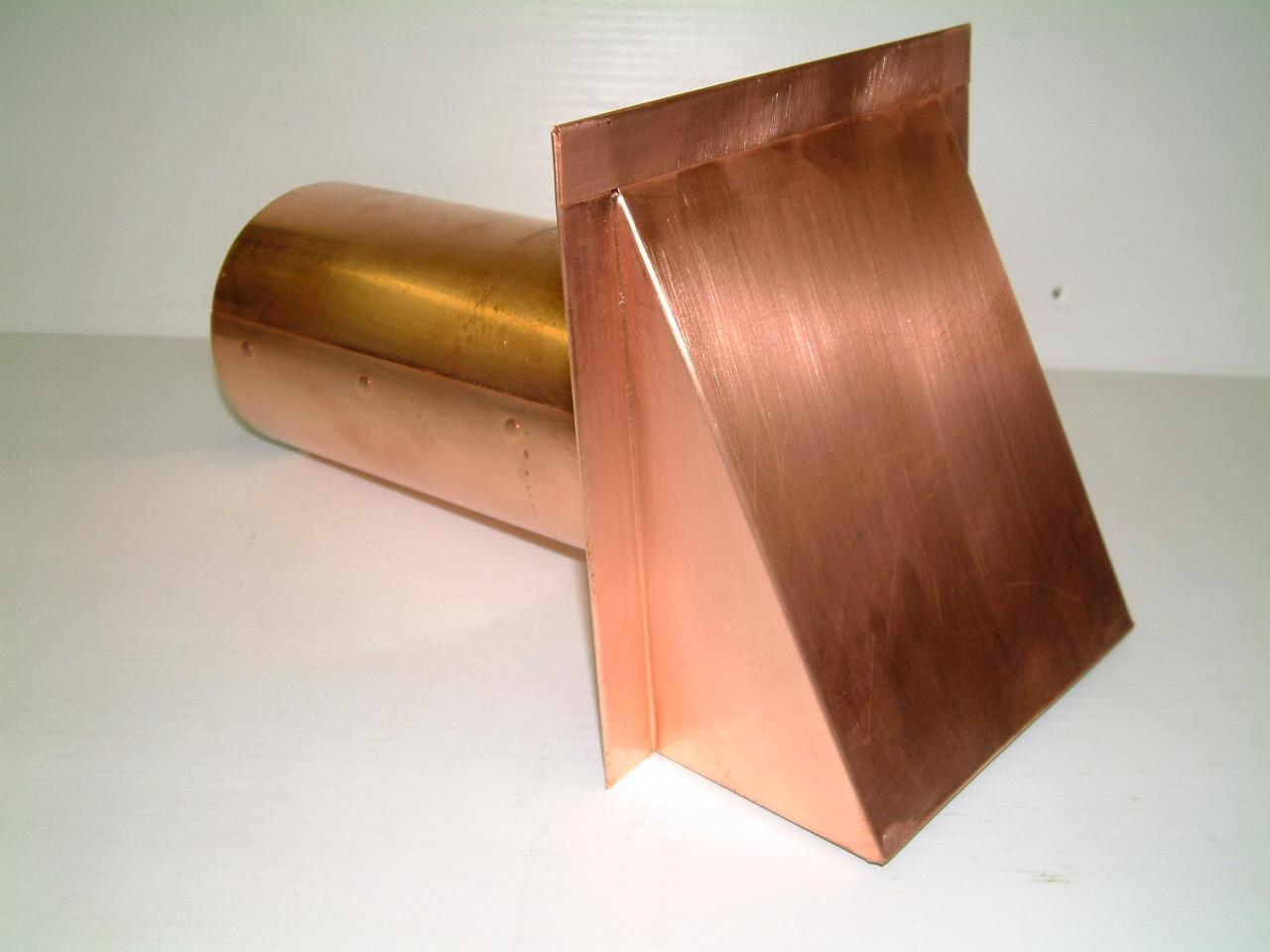 Volko Supply is your source for copper wall caps roof vents louvers & ventilators.