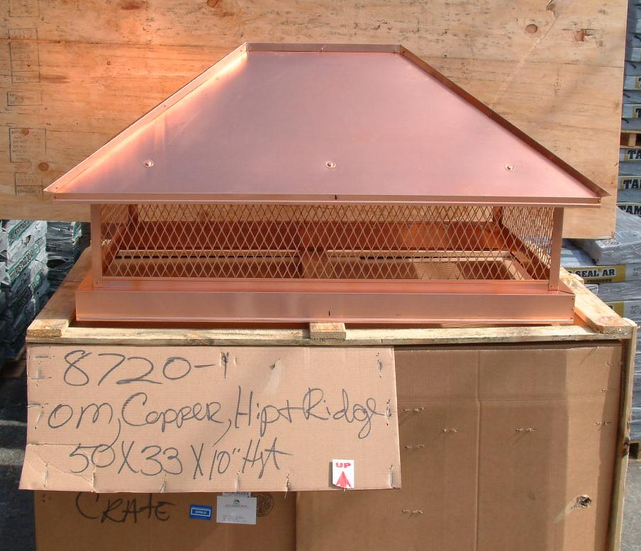 Volko Is Your Copper Source Copper Roof Vents Flashings