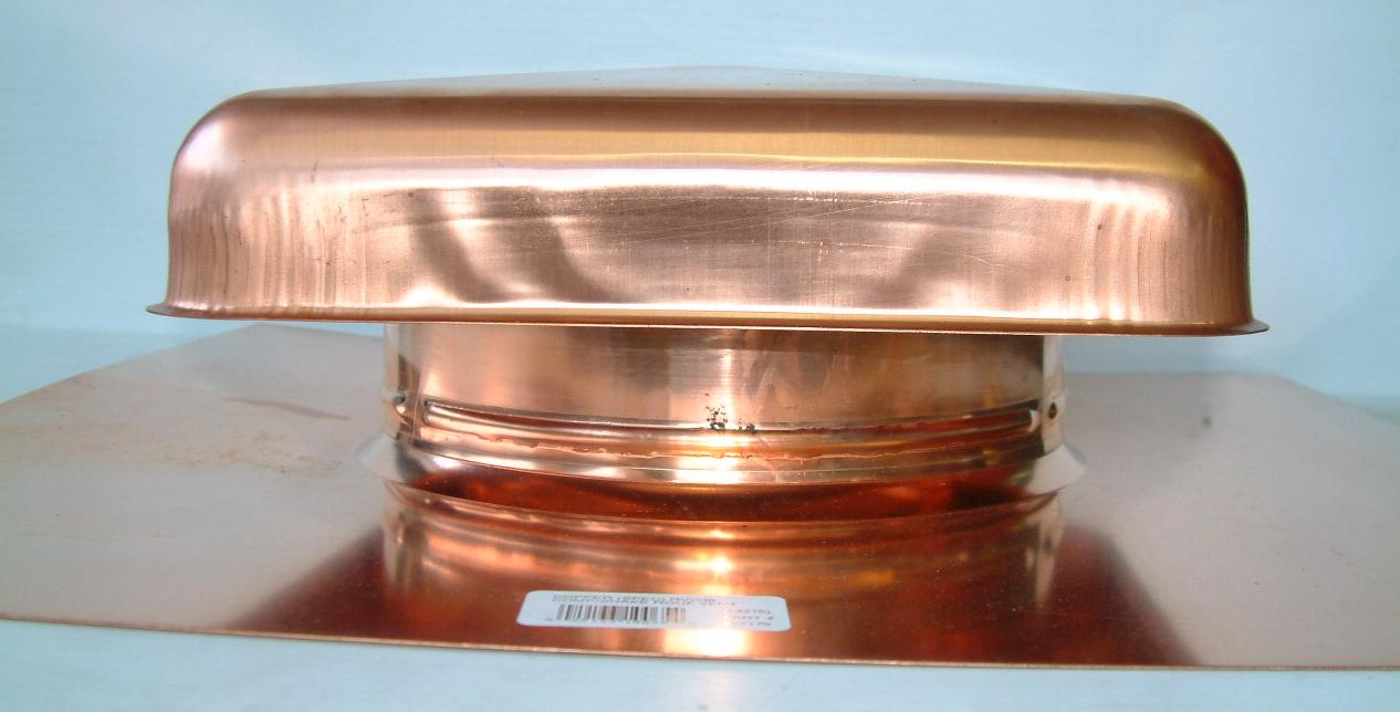 Volko Is Your Copper Vent Source Copper Roof Vents